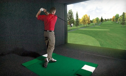 Golf-Simulation Outing for Two or Four at Stony Creek Golf Course in Oak Lawn (Up to 51% Off)