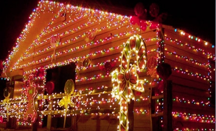 $11 for a Wisconsin Christmas Carnival of Lights Outing and Four Hot Drinks in Caledonia ($23 Value)