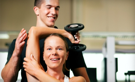 Two, Five, or Eight 30-Minute Personal-Training Sessions with Fitness Assessment at V Fit (Up to 58% Off)