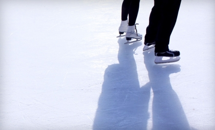 Ice-Skating Outing for Four or Six with Open-Skate Admission and Skate Rental from Boulder Creek Events (Up to 56% Off)
