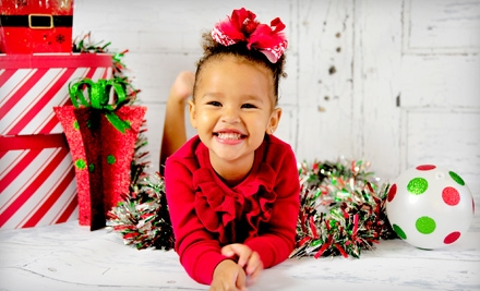 $69 for a Holiday Photo-Card Package with CD of Retouched Images from Flashbox Shop ($275 Value)