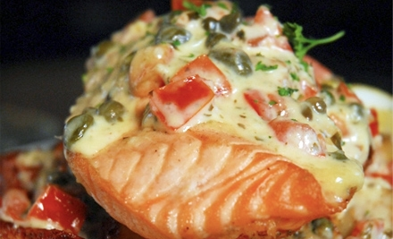 American-Frontier-Fusion Dinner or Lunch for Two at Appaloosa Grill (Up to 57% Off)