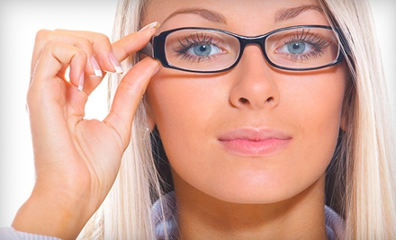 $49 for an Eye Exam Plus $100 Toward a Complete Pair of Prescription Eye Glasses at ClearVision Eye Care in Westminster ($155 Value)