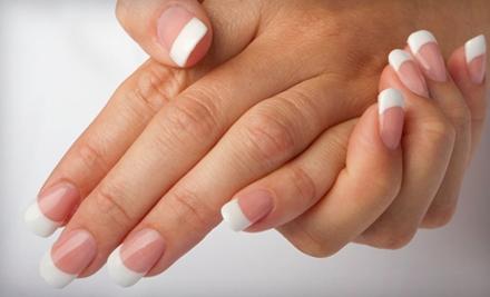 Shellac Manicure or Spa Mani-Pedi at Studio H2O Salon (Up to 56% Off)