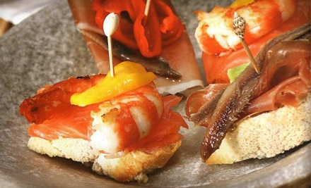 Tapas, Flatbreads, and Sandwiches at Terra Restaurant & Bar in Hampton (Up to 58% Off). Two Options Available.