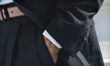 Custom Coats, Suits, and Slacks from Executive's Cutting Edge (Up to 67% Off). Three Options Available.
