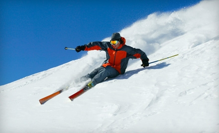 Ski Outing for One or Winter-Sports Day with Skiing and Lunch for Two at Mt. Waterman in La Canada (Up to 55% Off)