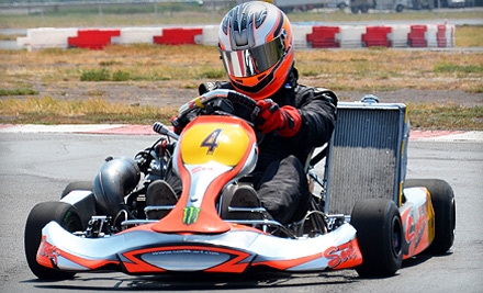 One 10-Minute Adult High-Speed Go-Kart Race at The Dallas Karting Complex in Caddo Mills (Up to Half Off). Three Options Available.