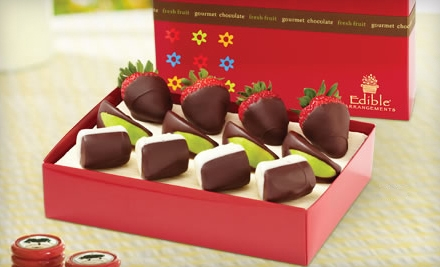 $12 for Gift Box of Chocolate-Dipped Fruit at Edible Arrangements ($25 Value). Three Locations Available.