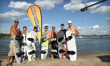 Two- or Four-Hour Cable Watersport Outing with Equipment Rental from Revolution Cable Park (Up to 55% Off)