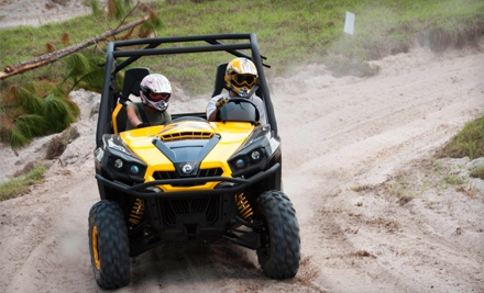$59 for a Dune-Buggy Adventure for Two at Revolution, The Off-Road Experience in Clermont ($112.35 Value)