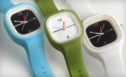 $36 for a Fashion-Forward Wristwatch and Two Interchangeable Watchbands (Up to $105 Value). Valid in Contiguous U.S. Only. Shipping Included.