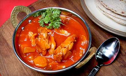 $15 for $30 Worth of Contemporary Indian Cuisine and Drinks at Dancing Ganesha