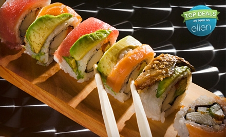 Sushi and Asian Fare for Dinner or Lunch at MK's Sushi (Half Off)