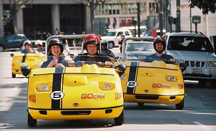 $49 for a Two-Hour Narrated, GPS-Guided City Tour for One or Two from GoCar Tours ($98 Value)