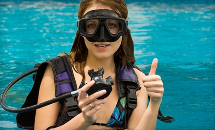 $99 for a Scuba Certification Class from Westfield Water Sports ($265 Value)