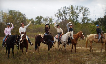 60- or 90-Minute Horseback Trail Rides for Two, Four, or Six from Agave Hurricane Trail Company (Half Off)