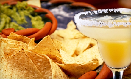 Mexican Meal for Two or $10 for $20 Worth of Specialty Drinks at Coconuts Beach Bar & Mexican Grill