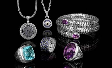 $40 for $100 Worth of Designer Jewelry from SweepStreet