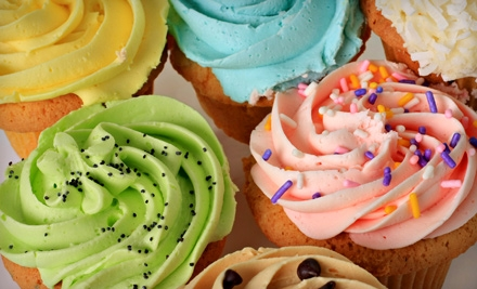 One Dozen Cupcakes or Two Dozen Cookies at Main Street Bakery and Gift Shop (Up to 53% Off)