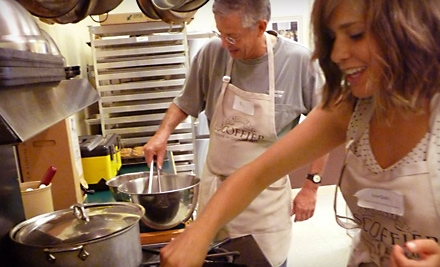 $42 for a Home-Cooking Class at Auguste Escoffier School of Culinary Arts (Up To $85 Value)