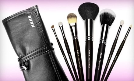 Face-and-Eye, Travel, or Premium Makeup-Brush Sets from nunu Makeup (Up to 65% Off)