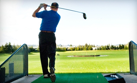 $15 for Three Large Buckets of Driving-Range Balls at Tualatin Island Greens (Up to $33 Value)