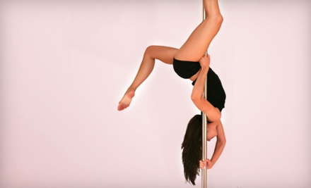 5 or 10 Pole-Dancing Classes or Private Pole Lesson at La Femme Fitness & Dance in Guttenberg (Up to 52% Off)