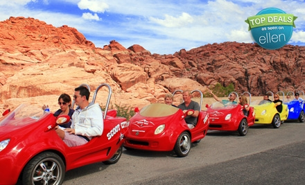 $125 for a Two-Person Scooter Tour of the Red Rock Canyon with Scoot City Tours ($250 Value)