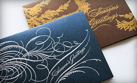 50 Holiday Cards or $20 for $40 Worth of Holiday Cards from Marsupial Pouches & Papers