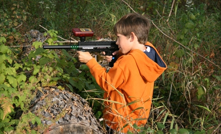 One Hour Paintball-Style Laser-Tag Adventure for Two or Four at Play Extreme Sports & Store (Half Off)