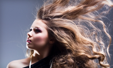 Conditioning or Coloring Package with Haircut at Strands of Hair in Flat Rock (Up to 57% Off)