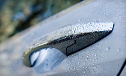 Car-Wash or Wash-and-Detail Package at Genie Car Wash (Up to 59% Off). Three Locations Available.