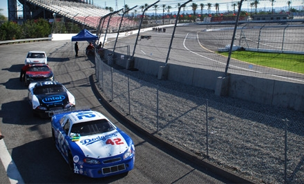 $145 for 20-Lap Stock-Car Driving Experience at L.A. Racing in Irwindale