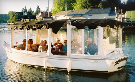 $96 for a Two-Hour Electric-Boat Rental from Northwest Boat Rentals and Adventures in Poulsbo ($193.31 Value)