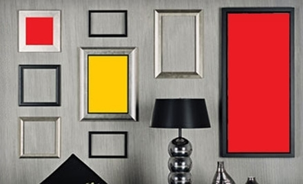 $29 for $70 Worth of Custom Framing or $19 for Custom Frame with Acid-Free Mat and Glass at Art and Frame World in Maple Grove