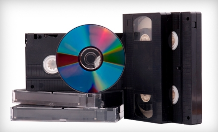 Videotape-to-DVD or Photo-to-CD Conversion at King Tapes in Mesa (Up to 75% Off)