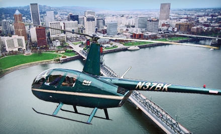 15- or 30-Minute Helicopter Tours for Up to Three People or Intro Helicopter Lesson from Pioneer Helicopters (Half Off)