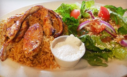 Mediterranean Dinner for Two or Four at Azar's Mediterranean Cafe in Buford (Up to 66% Off)