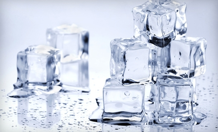$10 for 12 Bags of Self-Service Ice from Padre Ice LLC (a $24 Value)