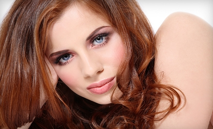 All-Over Hair Color or Highlights at Imagine Salon (Up to 67% Off)