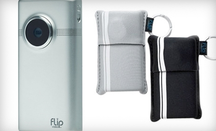 $69 for a Flip Video MinoHD 8GB Camcorder and Two Flip Video Soft Pouches from Beach Camera ($134.99 Value). Valid in Contiguous U.S. Only.