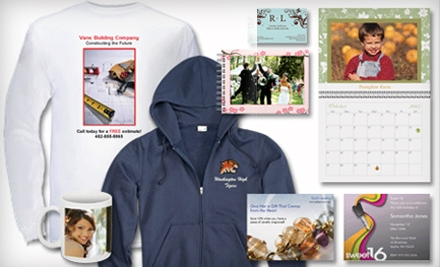 $15 for $60 Worth of Custom-Printing Services Online from Vistaprint