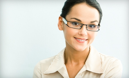 Prescription Eyewear and Contacts at PerSpectacles in Gilbert (Up to 73% Off). Two Options Available.