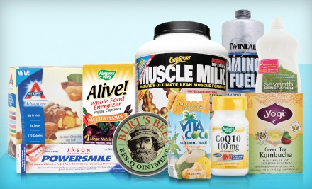$15 for $30 Worth of Vitamins, Supplements, and Organic Groceries from Vitacost.com