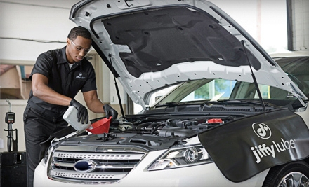 One or Three Oil Change Packages at Heartland Automotive Services Jiffy Lube (55% Off)