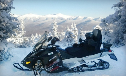 $79 for a Snowmobile Tour Sunday–Friday or Saturday from SledVentures Snowmobile Rentals in Lincoln ($149 Value)