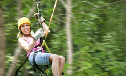 $44 for a Coach-Class Tour at Kersey Valley Zipline ($89 Value)
