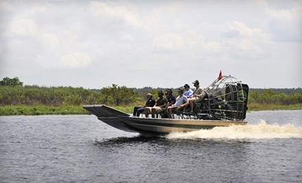 90-Minute Airboat Tour for One, Two, or Four from Airboat and Gator Charters in Deleon Springs (Up to 58% Off)