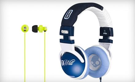 Hesh NBA Jazz – DWill Headphones or Full Metal Jacket Ear-Bud Headphones & Shipping from Skullcandy. Two Options Available.
